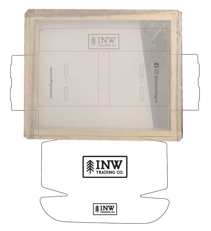 INW Trading Co.   Designing the screen