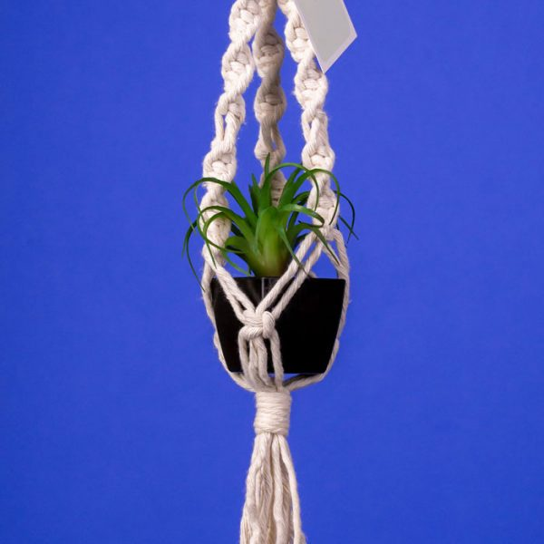 Mini Macrame Plant Hanger by Earthroots Studio