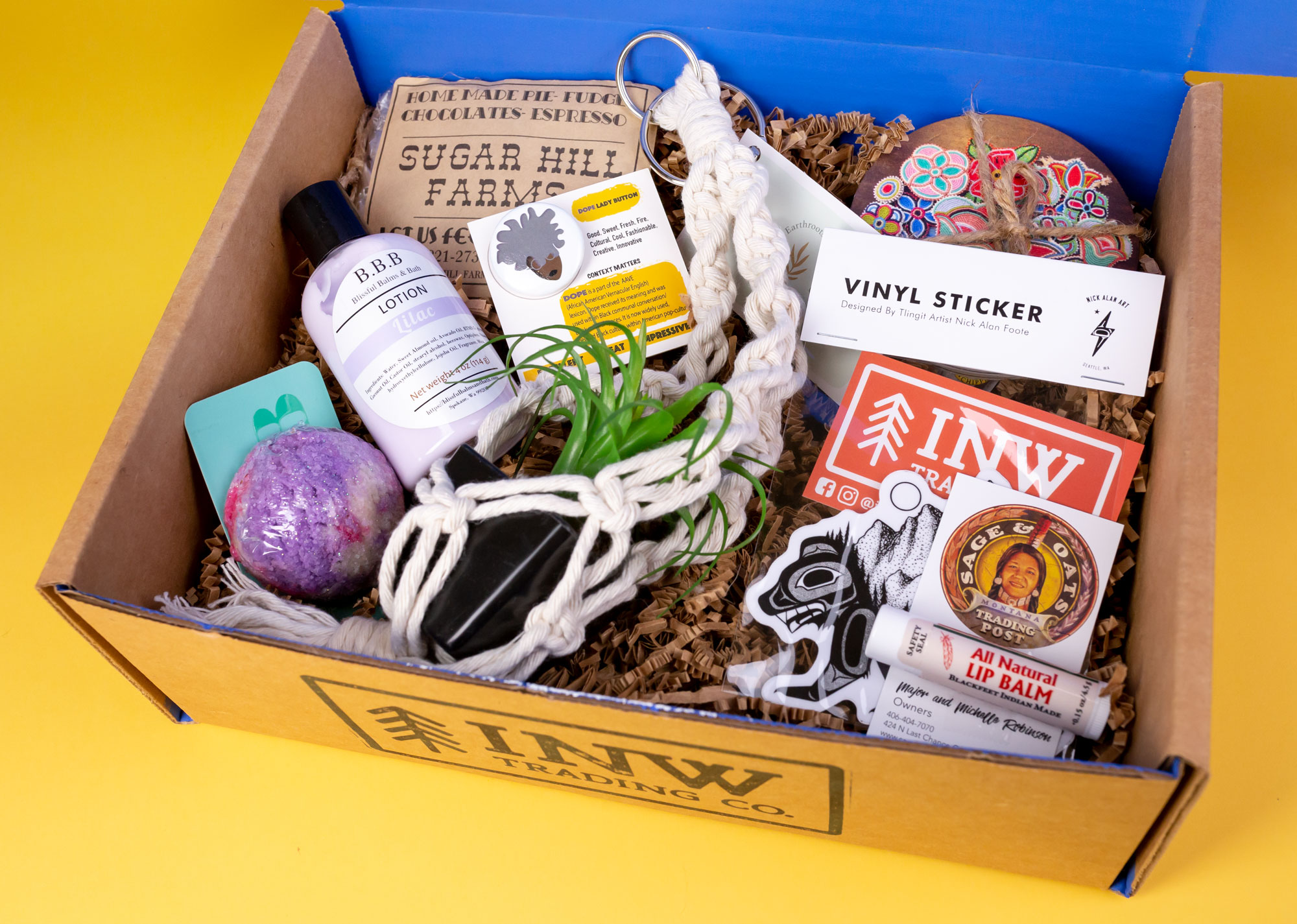 INW Trading Co. Subscription Box | BIPOC Box