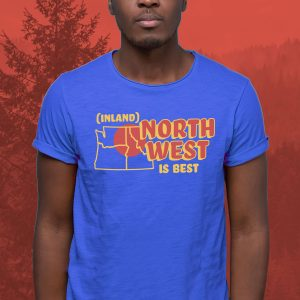 Inland Northwest Trading Co. | Men's Inland Northwest is Best T-Shirt