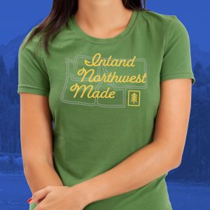 Inland Northwest Trading Co. | Women's Inland Northwest Made T-Shirt
