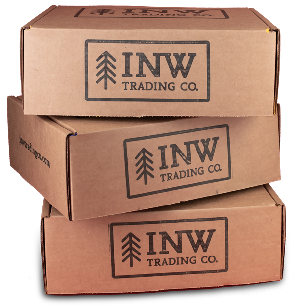 INW Trading Co. | Custom Gift Box | Stacked Boxes
