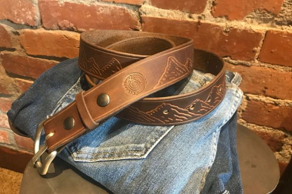 Kandis Created | Spokane, WA | Custom Leather Belt