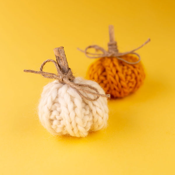 Knit Pumpkin by Little Happi Goods Co. | Spokane, WA