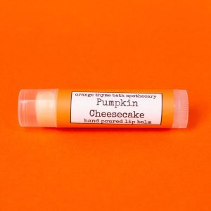 Pumpkin Cheesecake Lip Balm by Orange Thyme Apothecary | Spokane, WA