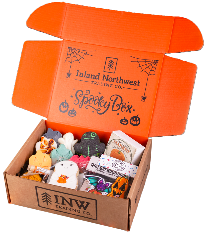 "Inland Northwest Halloween Subscription Box ""Spooky Box"""