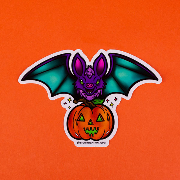 Halloween Sticker by That Brendon Dude