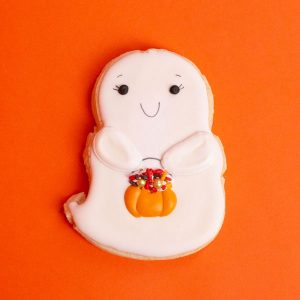 Ghost Cookie by Three Birdies Bakery | Spokane, WA