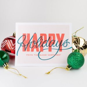 Holiday Greeting Card by Black Sheep Paper Co. | Spokane, WA