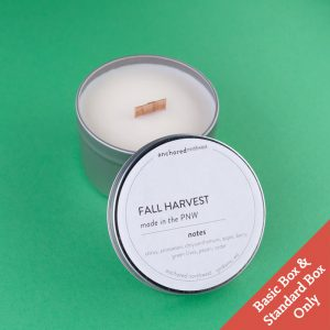 Fall Harvest Travel Tin Candle by Anchored NW | Spokane, WA