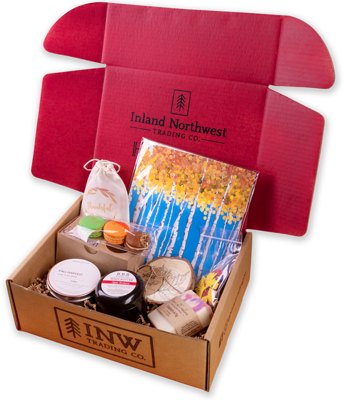 Inland Northwest Trading Co. | November Harvest Box | Big Box | Subscription Box