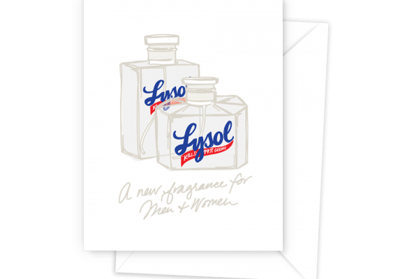 Black Sheep Paper Co. Lysol Card