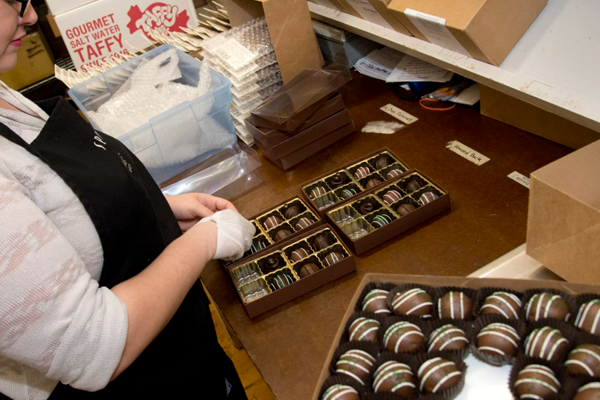Spokandy Chocolatier Production