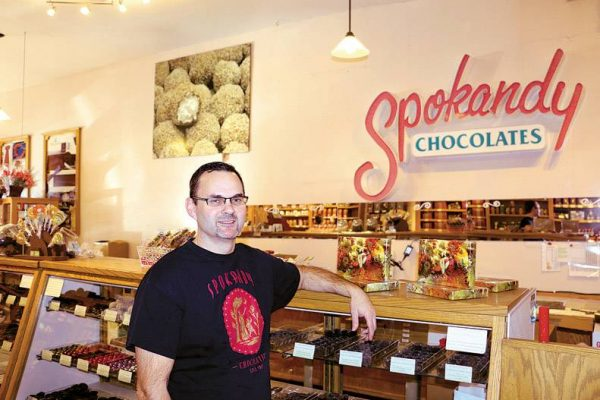 Spokandy Chocolatier Interior