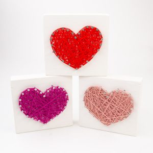 Brittany Jo Design Co. | Heart String Art | Moscow, ID