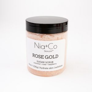 Rose Gold Sugar Scrub | Nia+Co Skincare | Yakima, WA